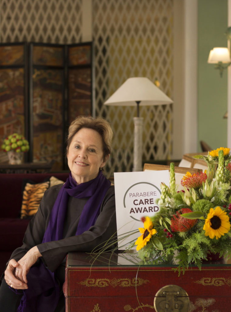 Alice Waters Parabere Care Award